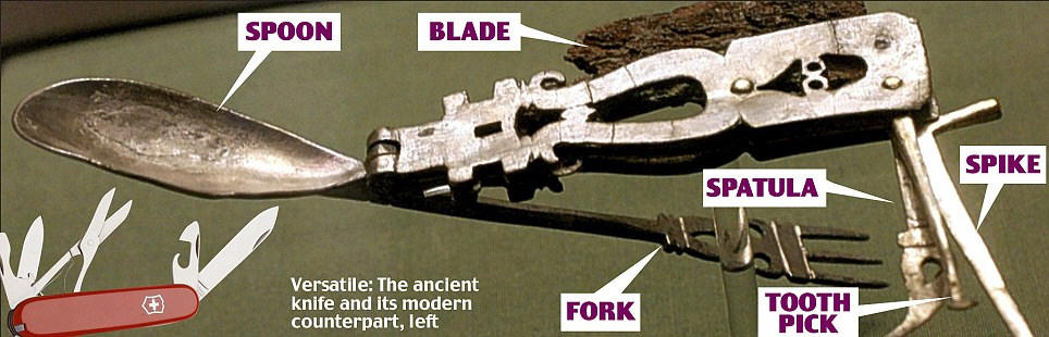 The Roman Army Knife Earthly Mission