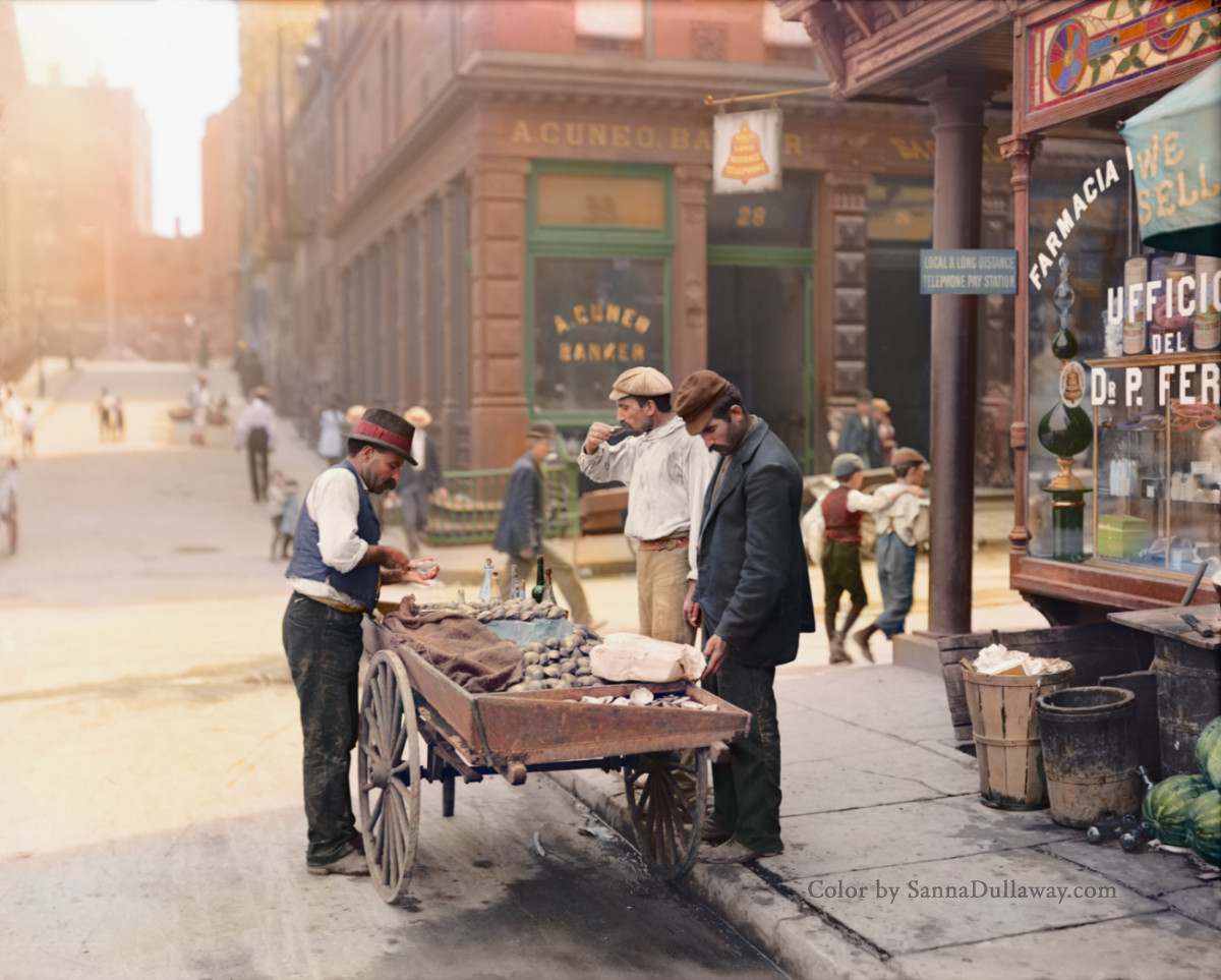 Colorized Photos from the Past | Earthly Mission