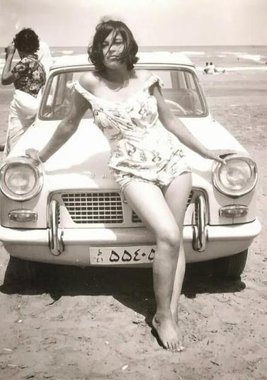 1960_Iranian woman before the Islamic Revolution, 1960