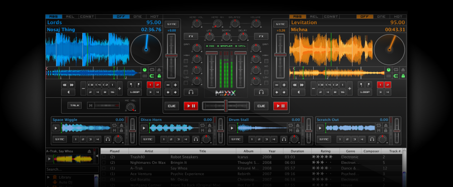 mixxx free mp3 dj software earthly mission. Black Bedroom Furniture Sets. Home Design Ideas