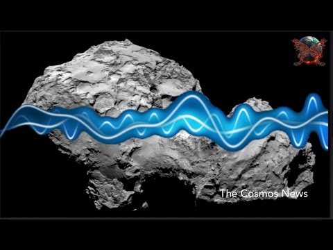 Comet 67P Sings a Mysterious Song Caught by Rosetta Spacecraft