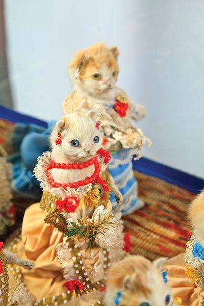 The Kittens' Wedding; c 1890
