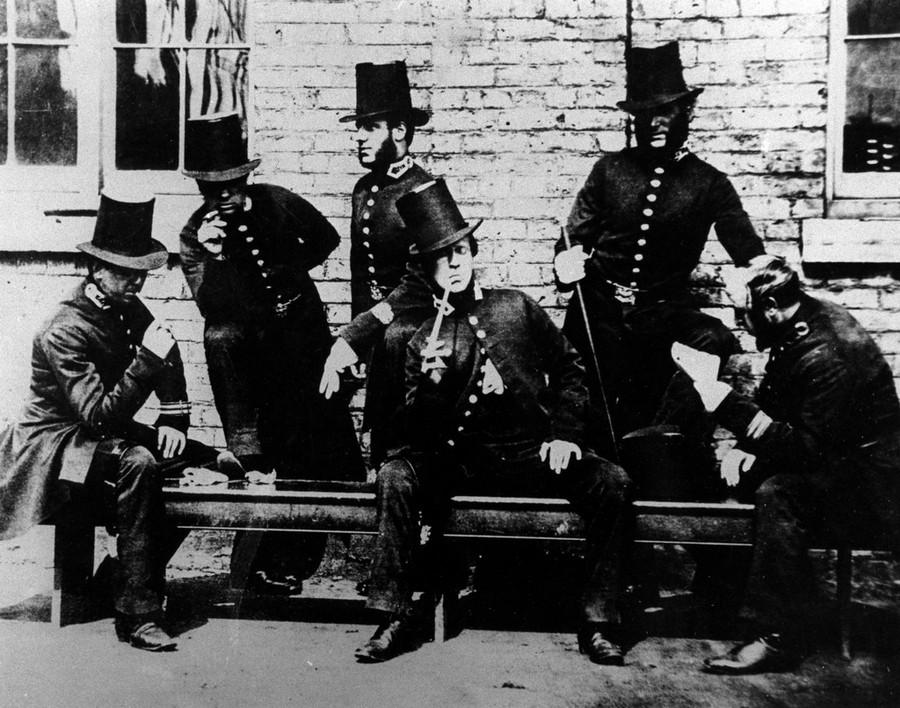 Manchester policemen, 1850