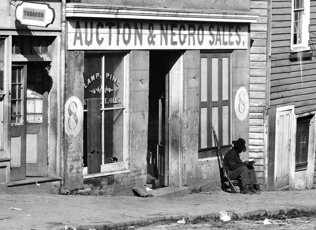 1870 slave market