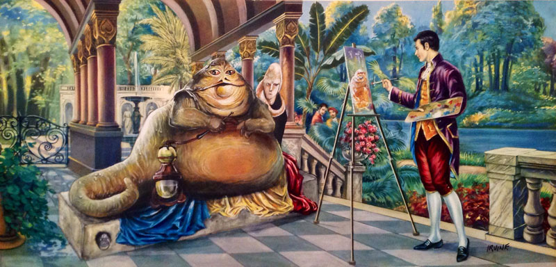 adding-characters-to-thrift-store-paintings-by-david-irvine-gnarled-branch-25