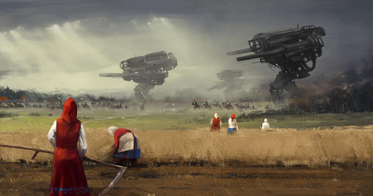 jakub_rozalski_oil_paintings_mechs_060115_1
