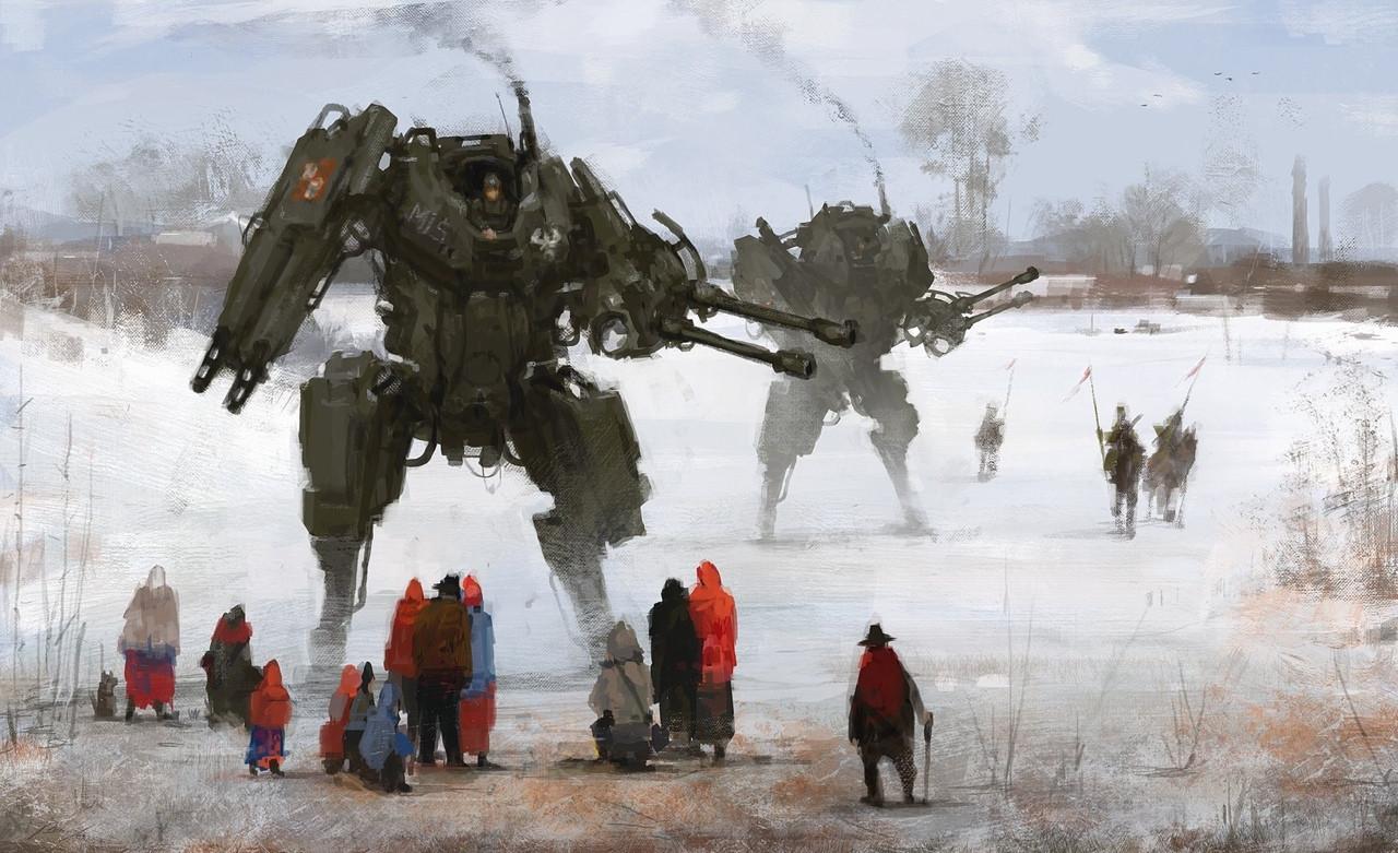 jakub_rozalski_oil_paintings_mechs_060115_5