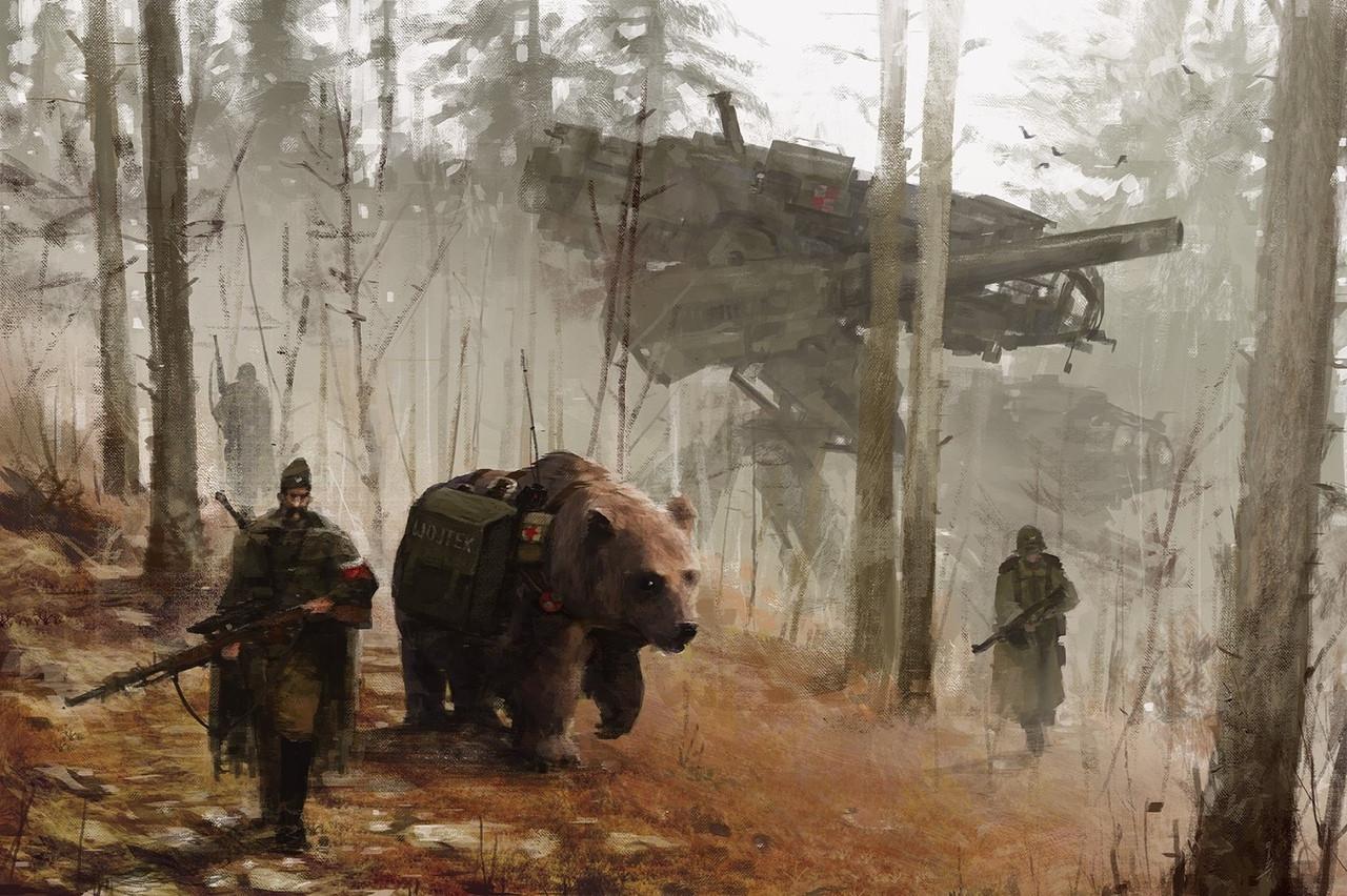 jakub_rozalski_oil_paintings_mechs_060115_6