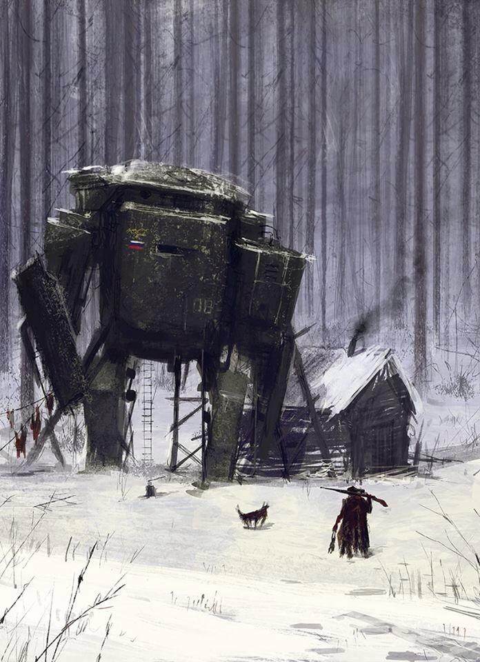 jakub_rozalski_oil_paintings_mechs_060115_7