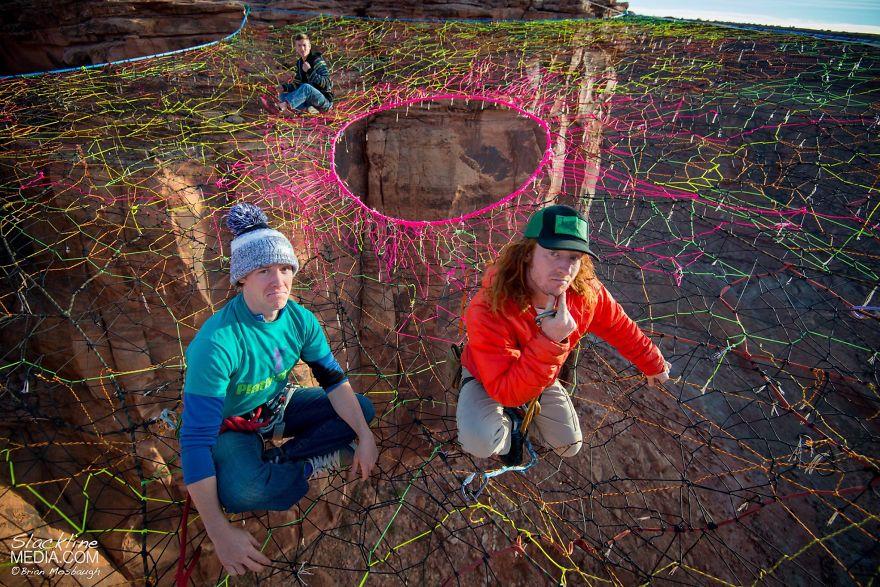 pentagon-handmade-net-over-canyon-moab-monkeys-brian-mosbaugh-11