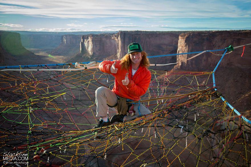 pentagon-handmade-net-over-canyon-moab-monkeys-brian-mosbaugh-13