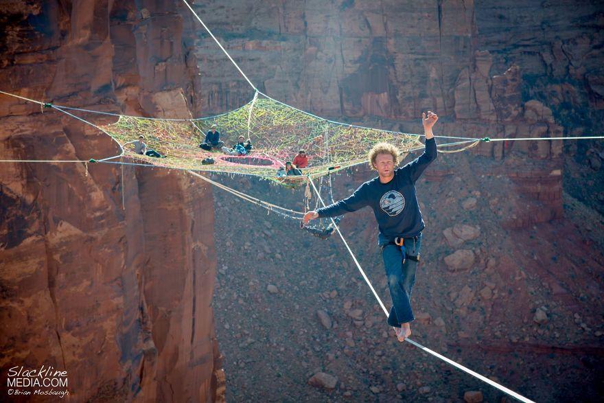 pentagon-handmade-net-over-canyon-moab-monkeys-brian-mosbaugh-4