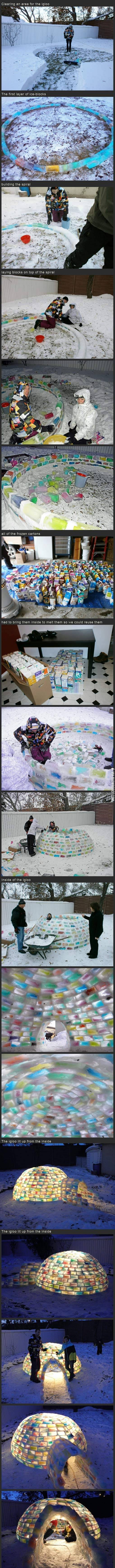 The world's most awesome igloo