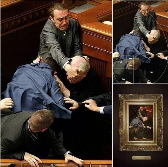 fight_ukrainian_parliament_painting_art