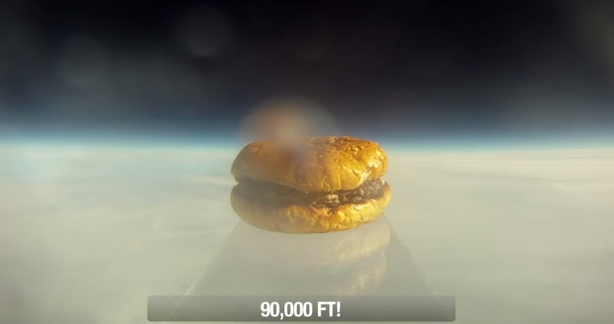 first_hamburger_in_space
