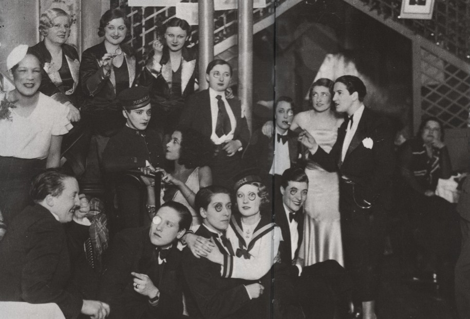 A Couple at the Le Monocle Lesbian Nightclub, Paris, 1932