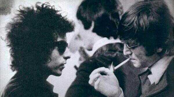 The day Bob Dylan and John Lennon met, 1966