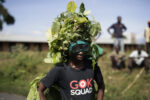 Protesting Bushman Style