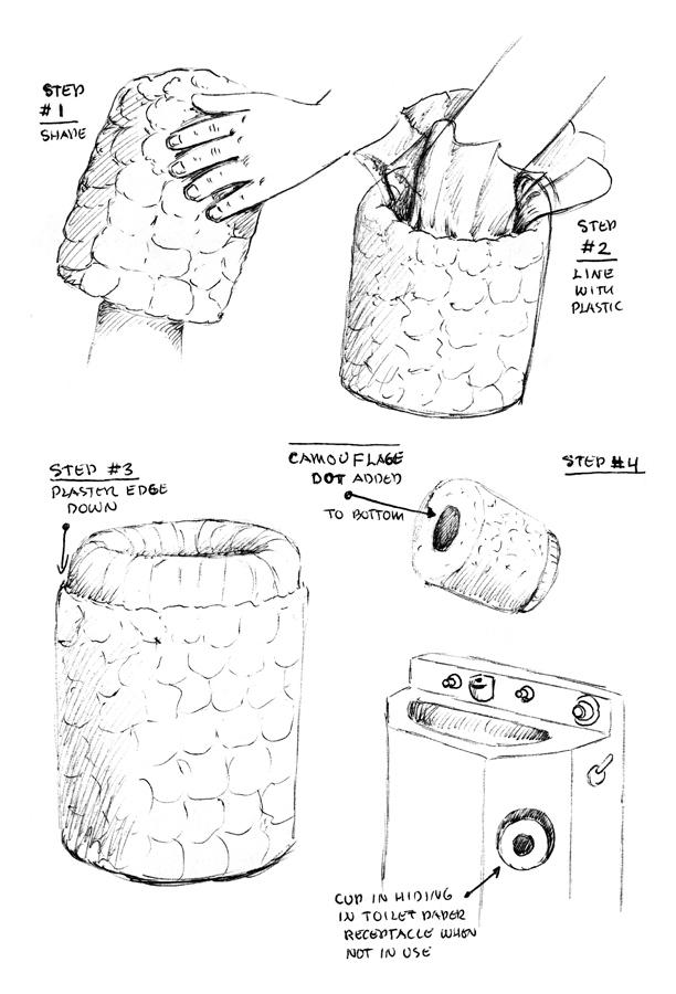 ToiletPaperMacheCup