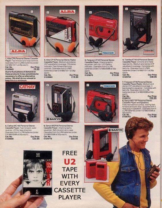 walkmans-with-free-u2-casette