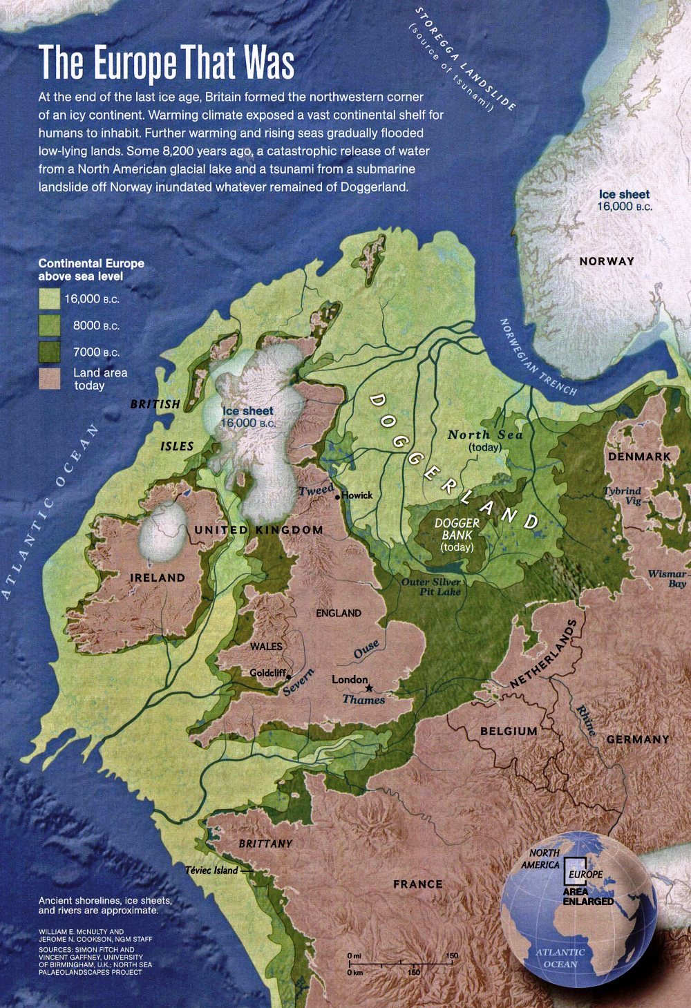 western-europe-in-16000-bc