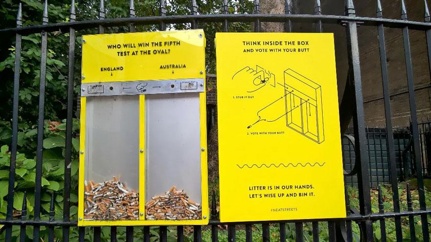 cigarette-butt-voting-littering-london-2