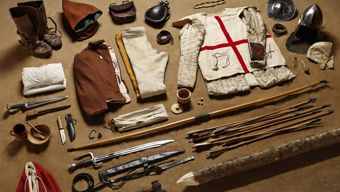 3-what-soldiers-wore-and-carried-in-war-from-the-middle-ages-to-today-fighting-archer-battle-of-agincourt-1415