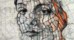 Incredible Portraits Drawn on Maps