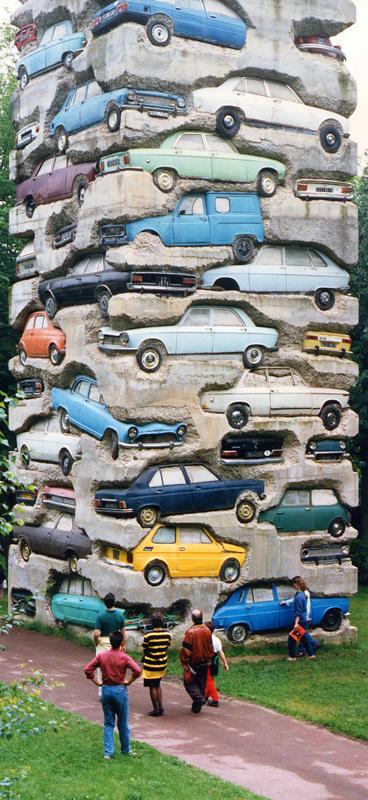 arman-60-car-long-term-parking-18mh-france-1982