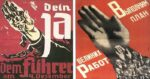 Similar Propaganda Posters from the USSR and the Third Reich