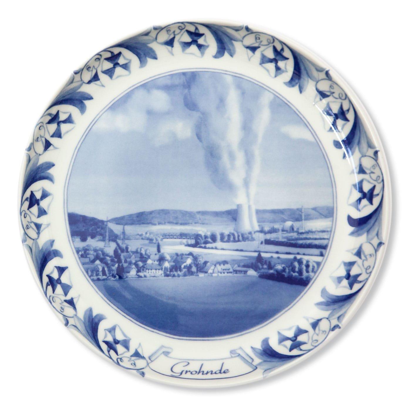 porcelain-nuclear-reactors-plates-grohnde