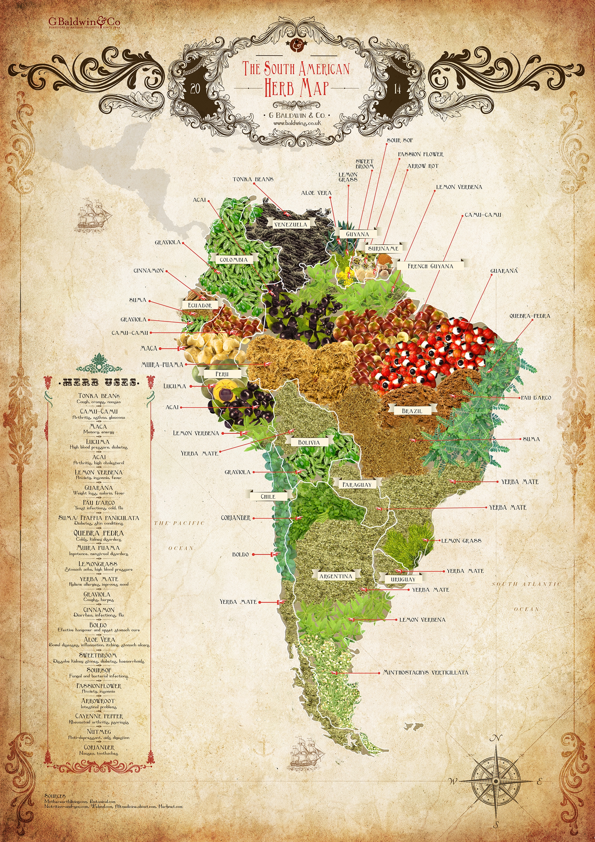 south-america_herbs_map