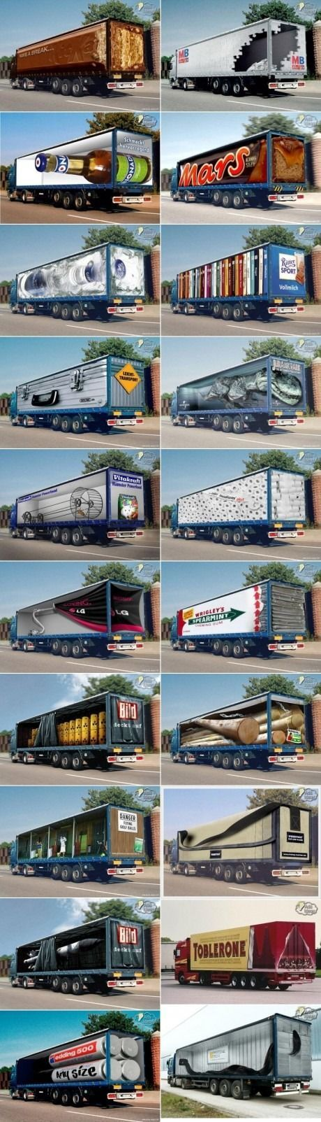 mobile billboard examples from around the world