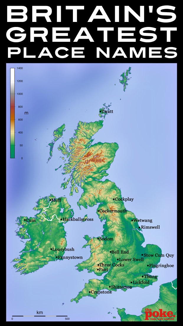 place names british map humor britain rude town fun funny ireland greatest hilarious name weirdest lewd most memes humour anglotopia