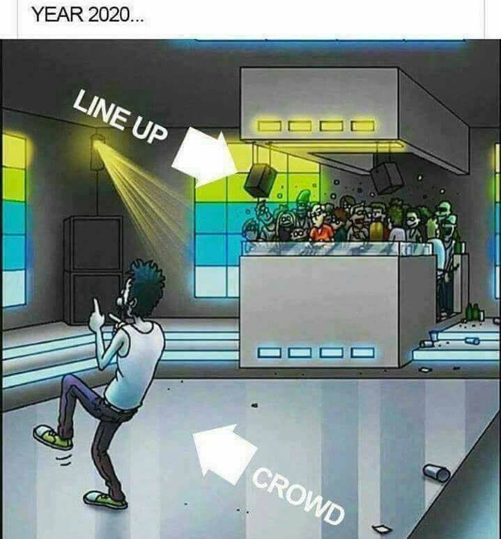 dj line up funny