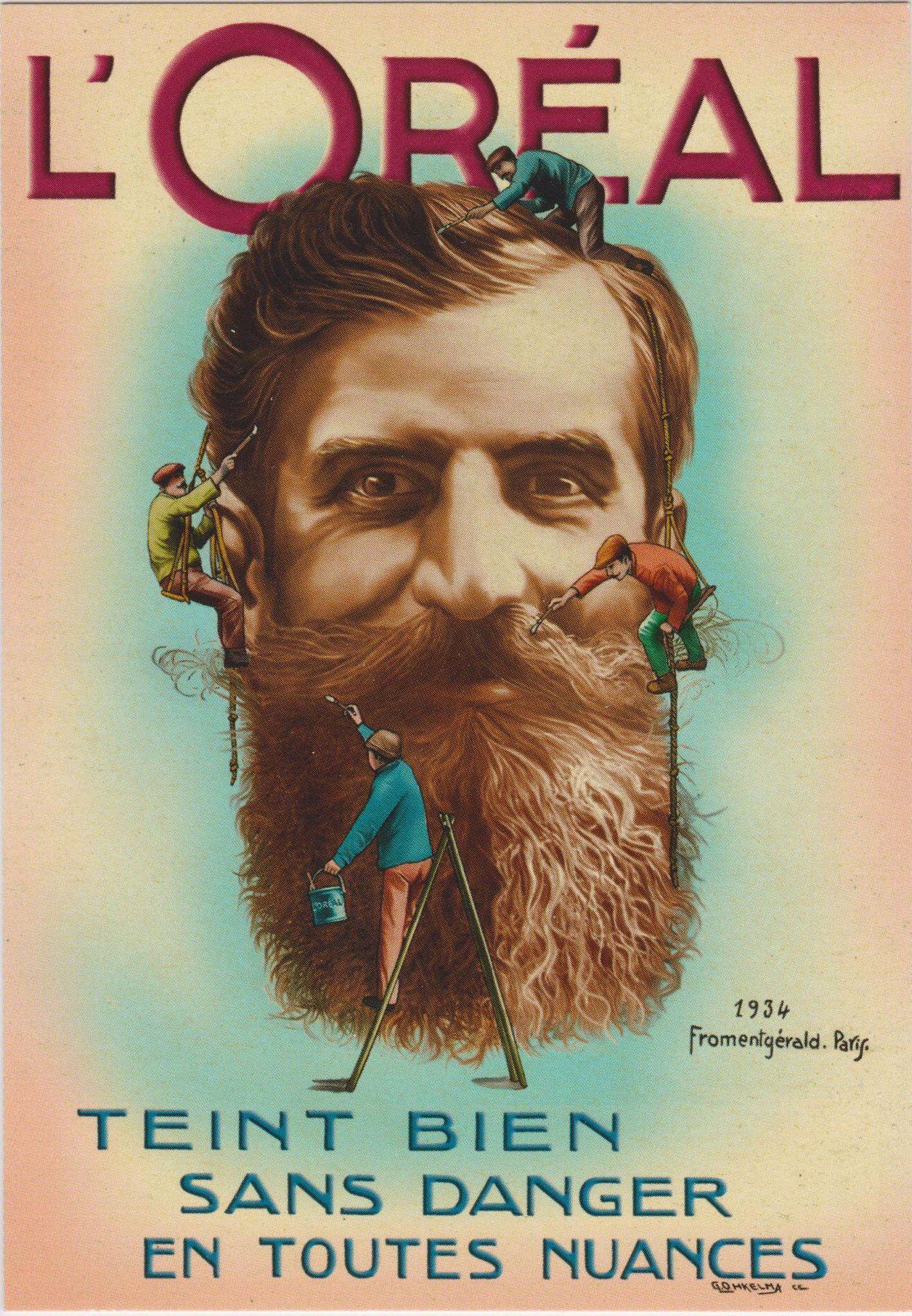 l'oréal hipster ad beard dye