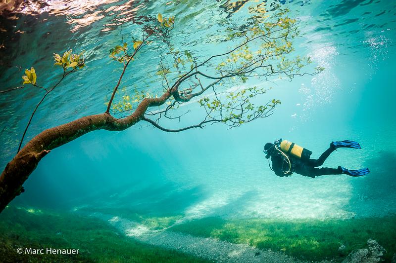 underwater park austria
