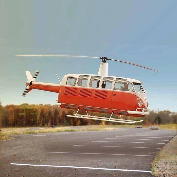 volkswagen t1 t2 helicopter chopper