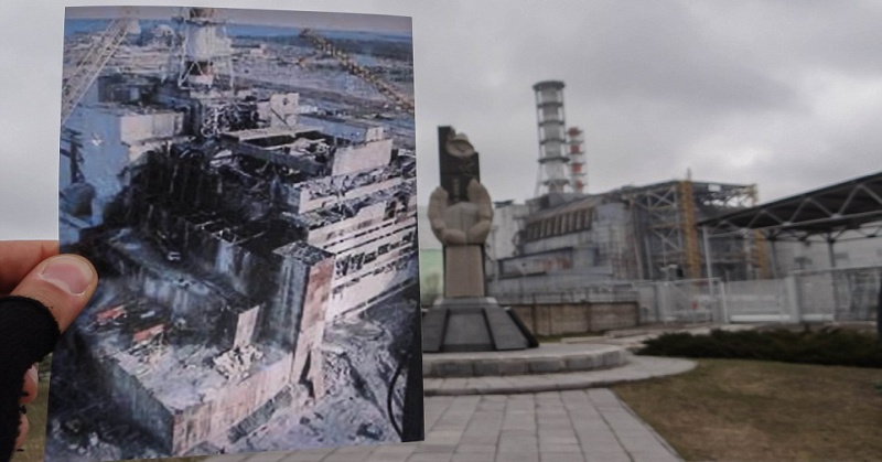 Chernobyl Before And After Pictures Earthly Mission