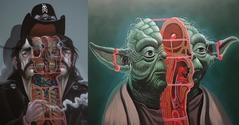 star wars pop culture icon Star wars mash-up art show opens at falcon bar in orlando  art opening in  orlando blends star wars and other pop-culture icons.
