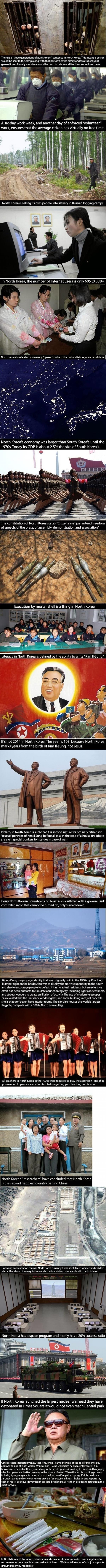 north korea sad facts