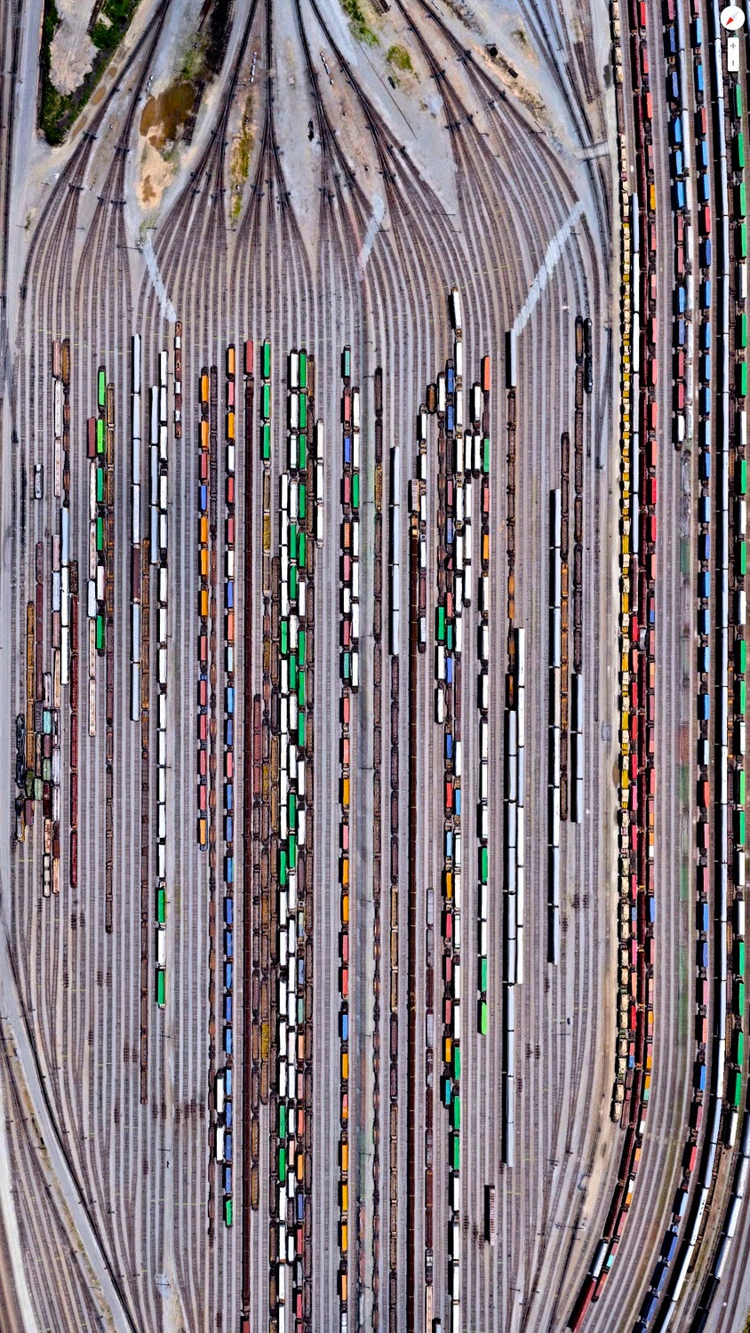 These Aerial Photos of Railroad Yards Will Take Your ...