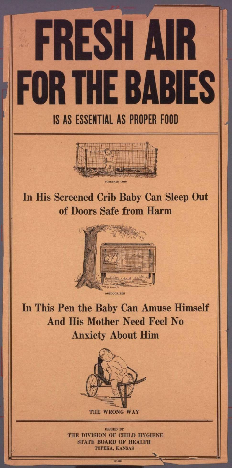 fresh air for babies