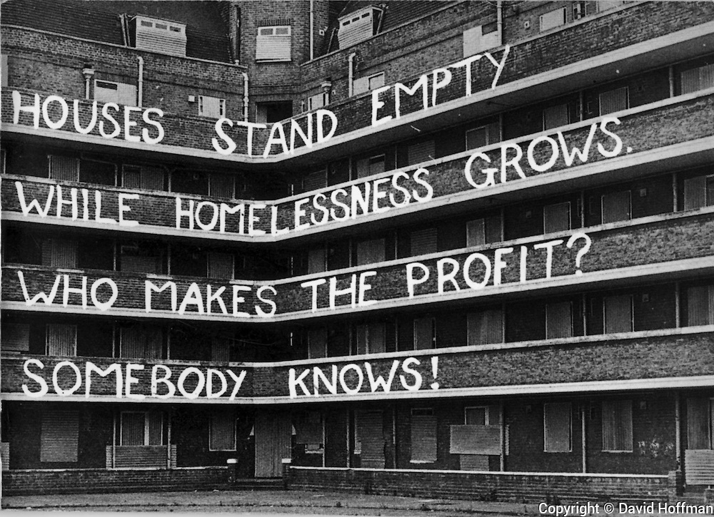 Houses Stand Empty While Homelessness Grows