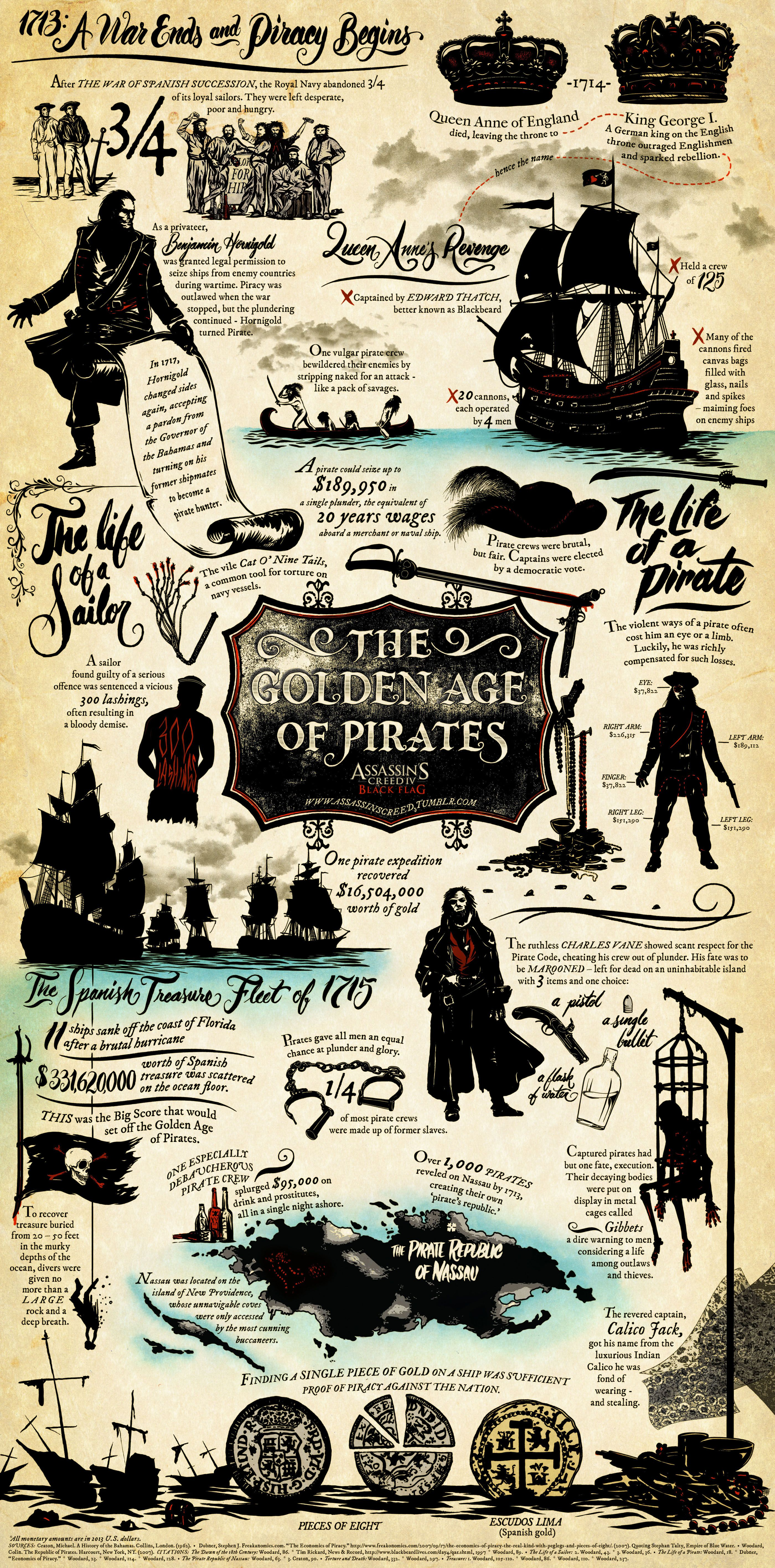 piracy infographic