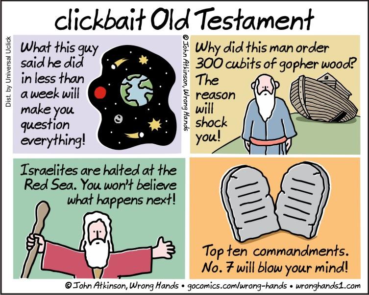 clickbait old testament