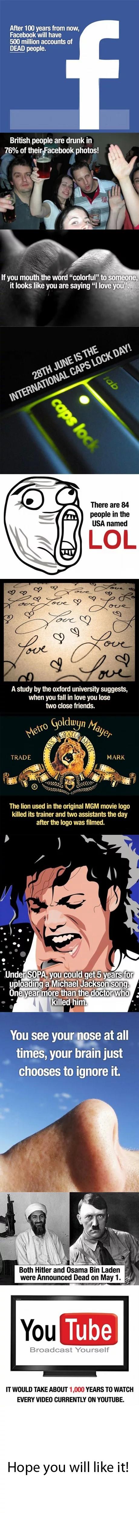 cool random facts