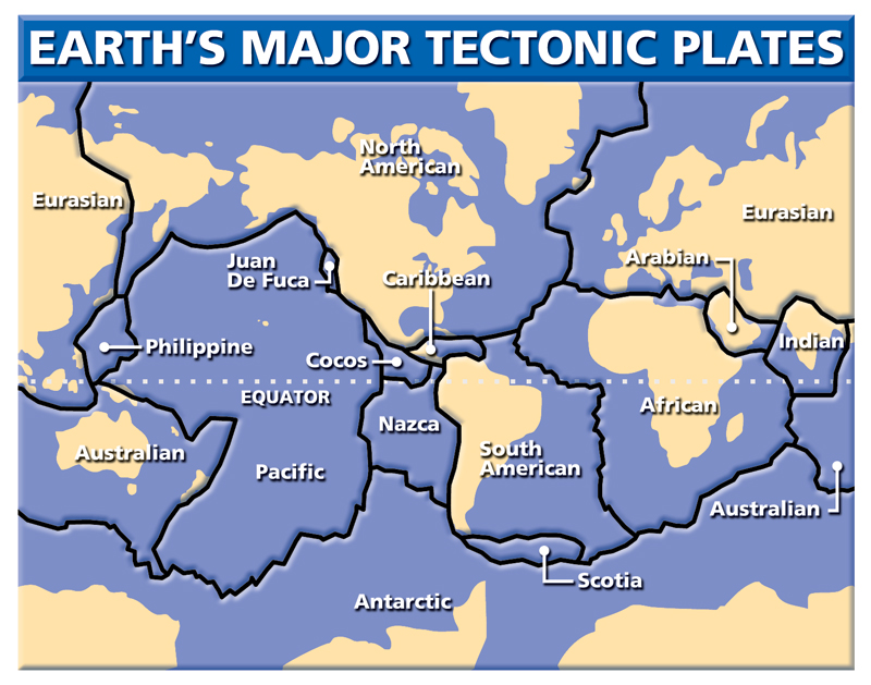earth tectonic plates