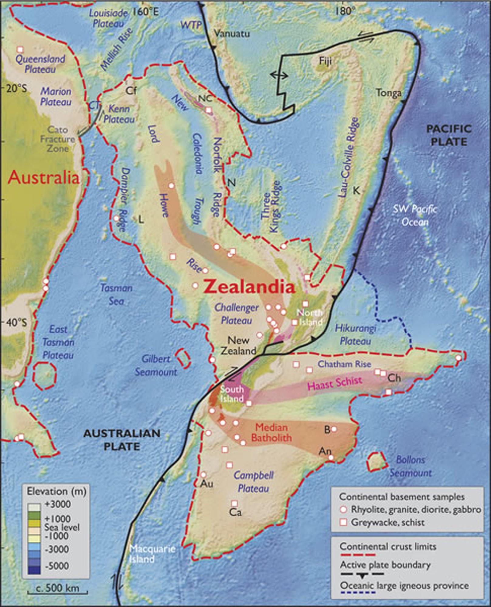 zealandia continent
