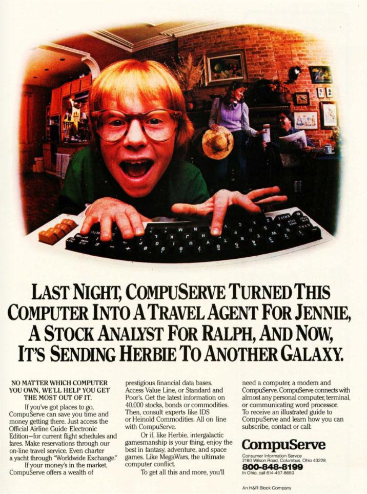 Compuserve, 1983